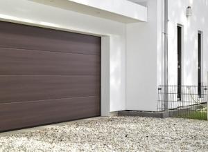 Ворота LPU42 с комплектом для проветривания гаража