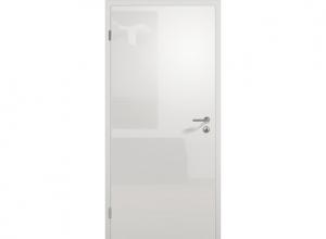 Межкомнатная дверь ConceptLine, глянцевая, светло-серый RAL 7035