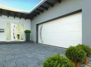 Дизайнерские гаражные ворота Hormann мотив 457 2500 х 2250