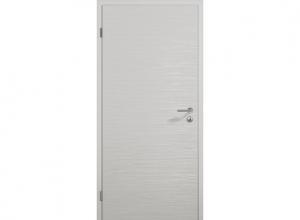 Межкомнатная дверь ConceptLine Duradecor, рифленая, светло-серый RAL 7035