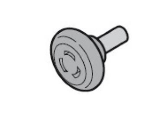 Ходовой ролик, промежуточный с осью 40 мм, для направляющих N, L, BL, Z, BZ Hormann (3039956)