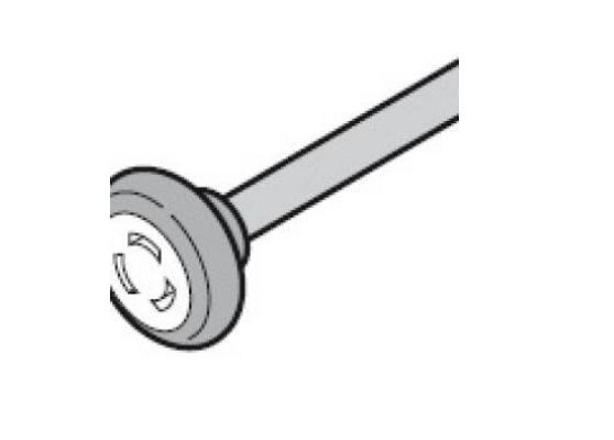 Ходовой ролик, нижний с осью 110 мм, для направляющих Z, BZ Hormann (3047259)