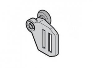 Верхний роликодержатель с ходовым роликом, направляющая N, справа Hormann (3045403)
