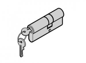 Двойной профильный цилиндр для боковой двери Hormann (3091446)