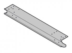 Торцевая накладка для установленной заподлицо фальш-панели, тип BF справа Hormann (4004944)
