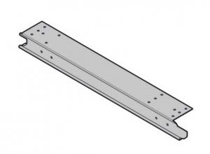 Торцевая накладка для секции ворот справа Hormann (3047288)