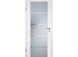 Межкомнатная дверь GlassLine Duradecor, стеклянная