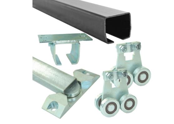 Комплект для подвесных ворот Ролтэк Микро (RC55 до 200 кг, до 5 м)