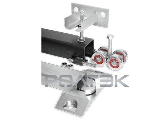 Комплект для подвесных ворот Ролтэк Эко  (RC59 до 700 кг, до 4 м)