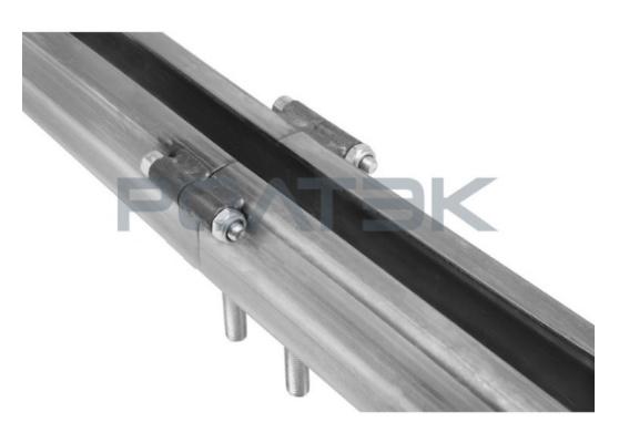 Комплект для подвесных ворот Ролтэк Евро  (RC74 до 1200 кг, до 4 м)