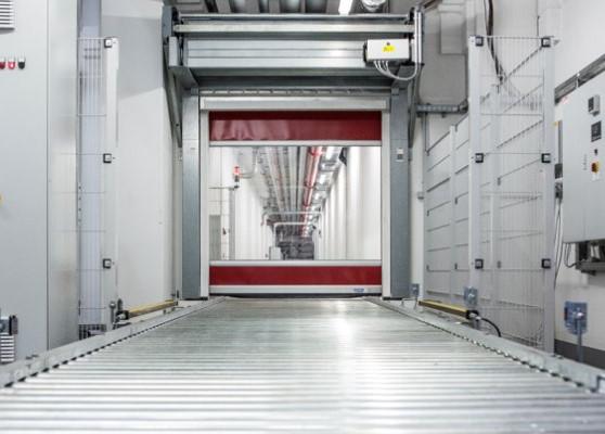 Гибкие скоростные ворота Hormann V 3009 Conveyor
