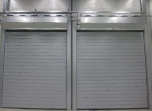 Скоростные ворота со звукоизоляцией Hormann Speed HS 5015 Acoustic H   2000 х 2000