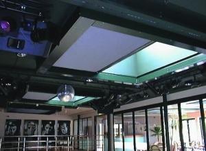 Противопожарные шторы «Горизонтальные» МВА EI60/EI180