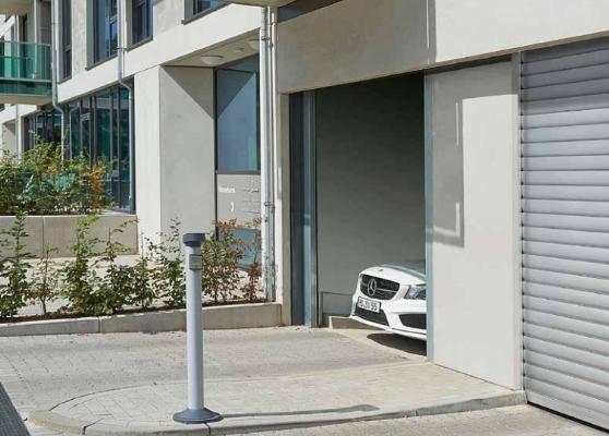Рулонные промышленные ворота TGT для коллективных парковок