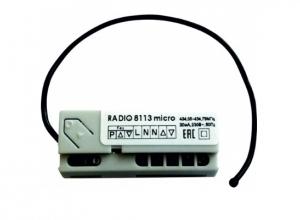 Радиоуправление одноканальное Nero Radio 8113 micro