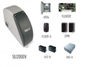 Автоматика для промышленных секционных ворот NICE SUMOVKIT2 (комплект)