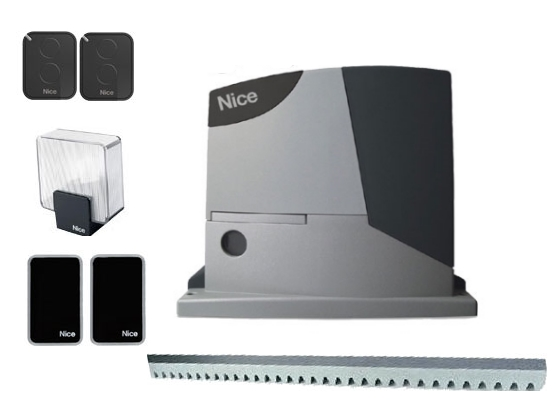 Автоматика для откатных ворот Nice RD400 KIT 3 (комплект)
