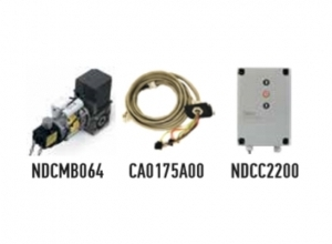 Автоматика для промышленных секционных ворот NICE SW7020230KEKIT (комплект)