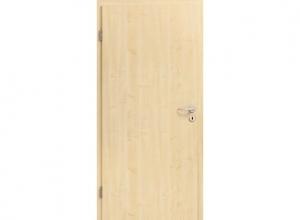 Межкомнатная дверь BaseLine, натуральный шпон «клен»