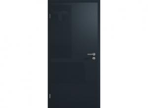 Межкомнатная дверь ConceptLine, глянцевая, серый антрацит RAL 7016