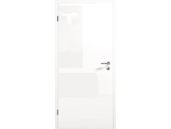 Межкомнатная дверь ConceptLine, глянцевая, белый RAL 9016