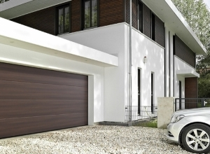 Секционные гаражные ворота Hormann LPU 42 2500 х 2080